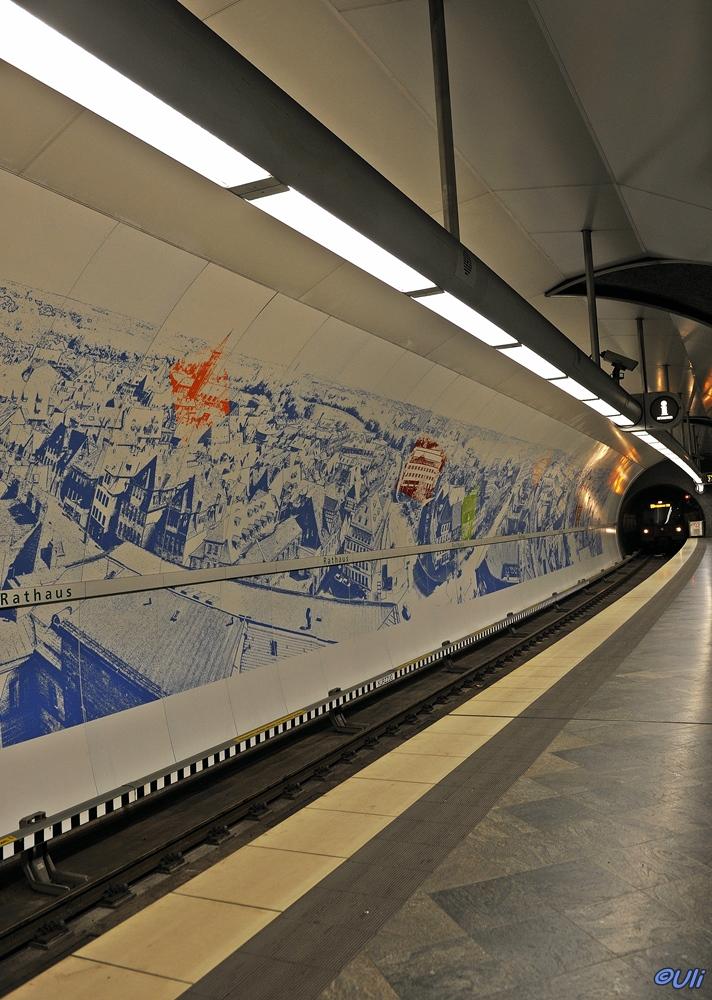 U-Bahn Station Rathaus Fürth