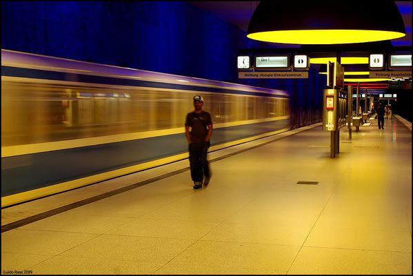 U-Bahn Station Westfriedhof