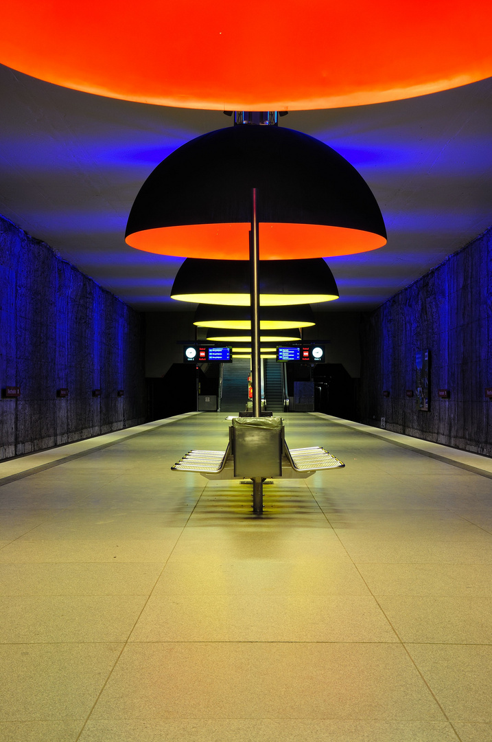 U-Bahn Station Westfriedhof München I