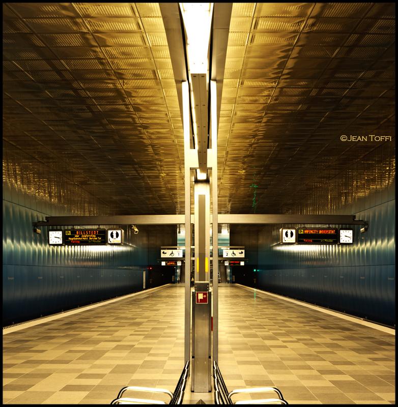U-Bahn Überseequartier Hafen City Hamburg