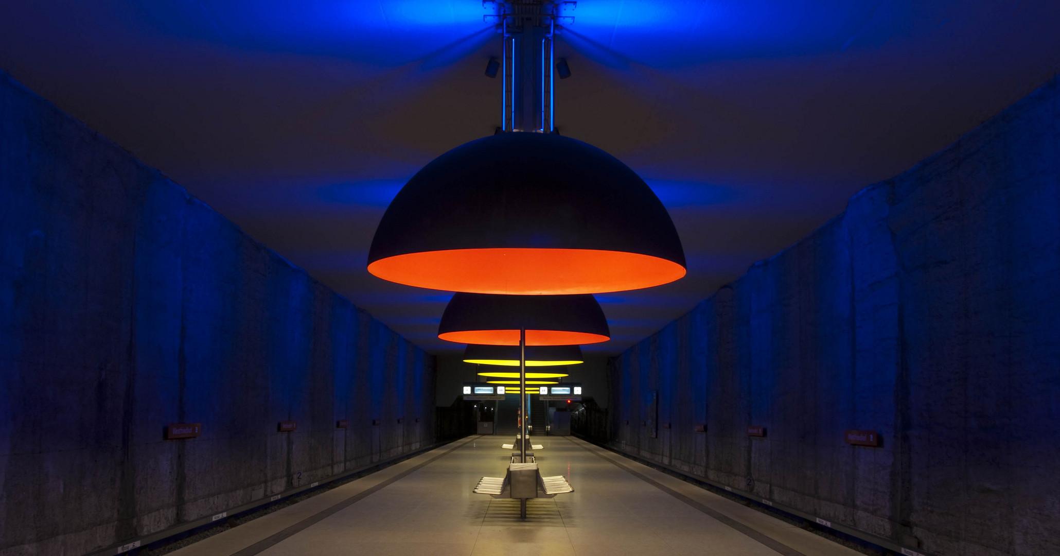 U-Bahn Westfriedhof