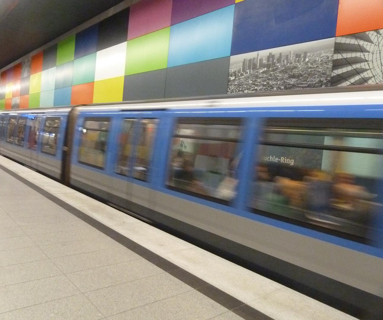 U-Bahn Wusch