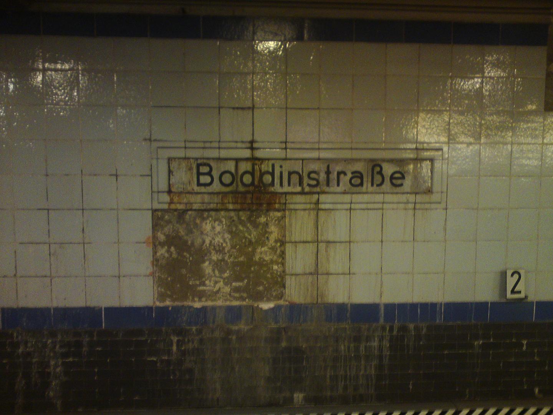 U Bahnhof Boddinstrasse
