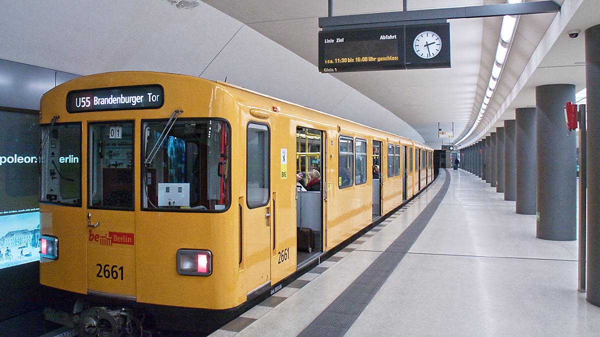 U-Bahnhof Brandenburger Tor 2