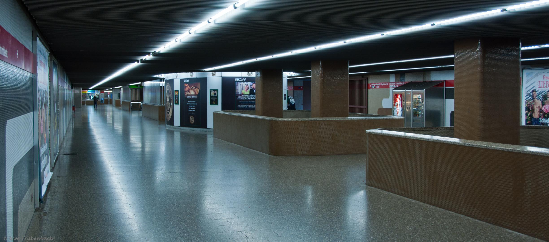 U-Bahnhof Giesing / Bahnhof, Sperrengeschoss