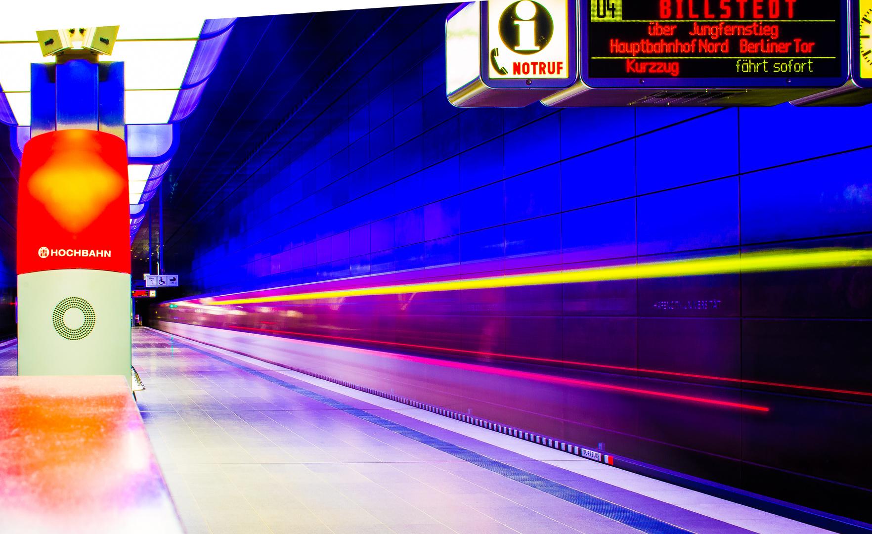 U-Bahnhof Hafen City Univerität - 1