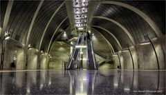 U-Bahnhof Heumarkt zu Köln am Rhein ....