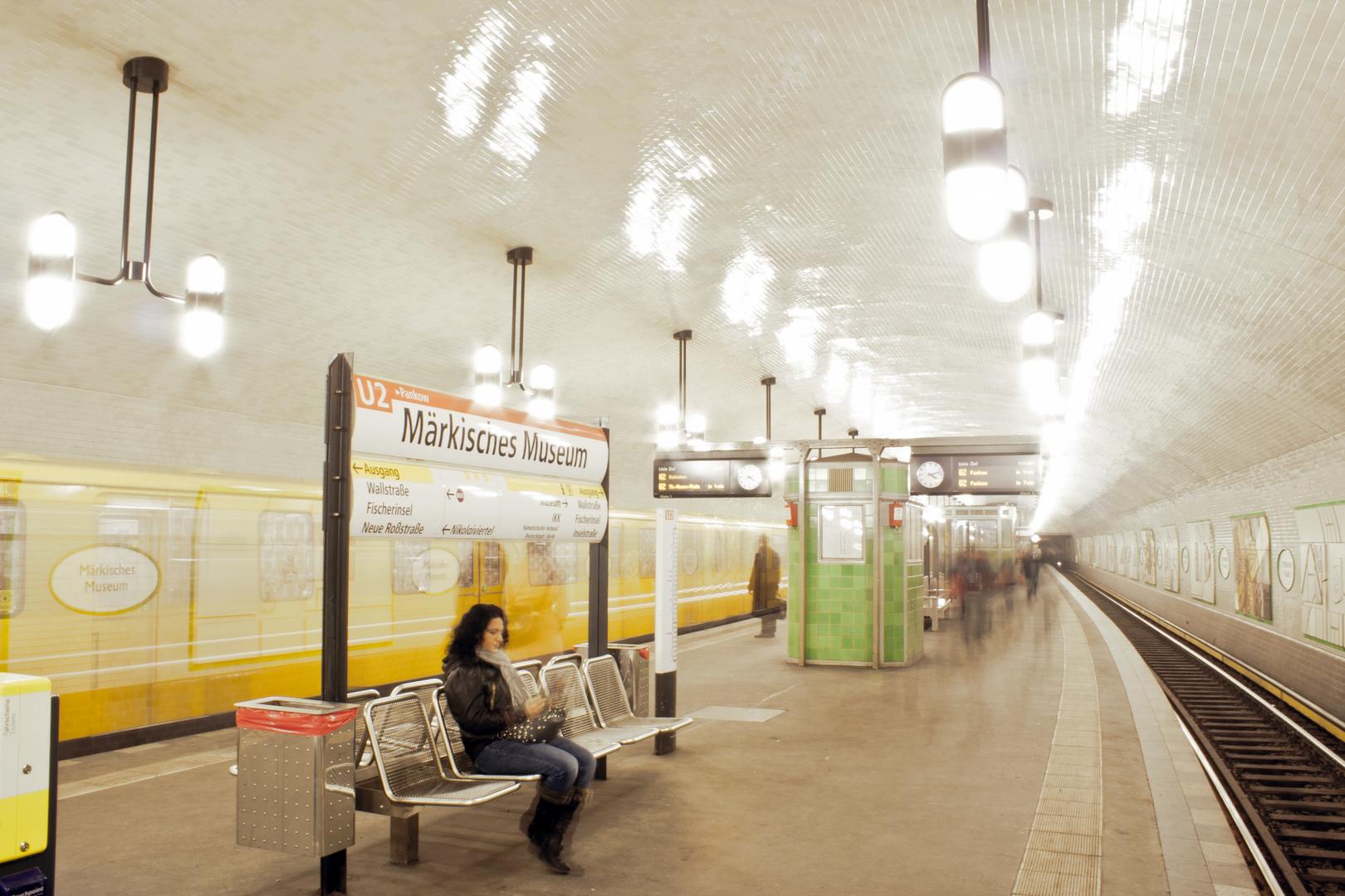 U-Bahnhof Märkisches Museum Berlin
