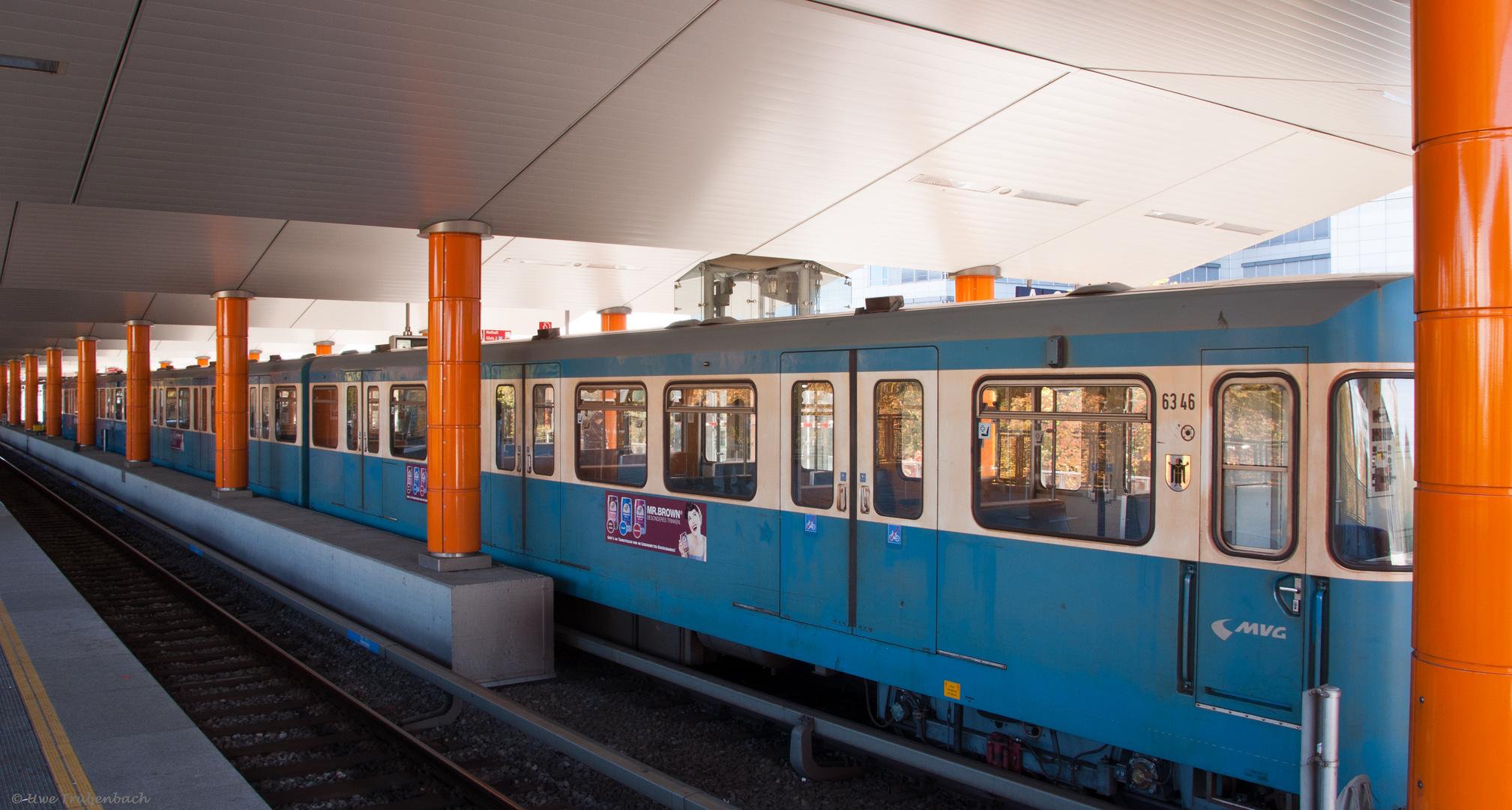 U-Bahnhof Neuperlach Süd (2)