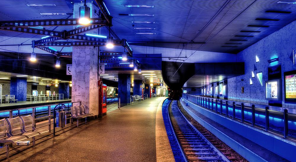 U-Bahnstation des Essener Hauptbahnhofs