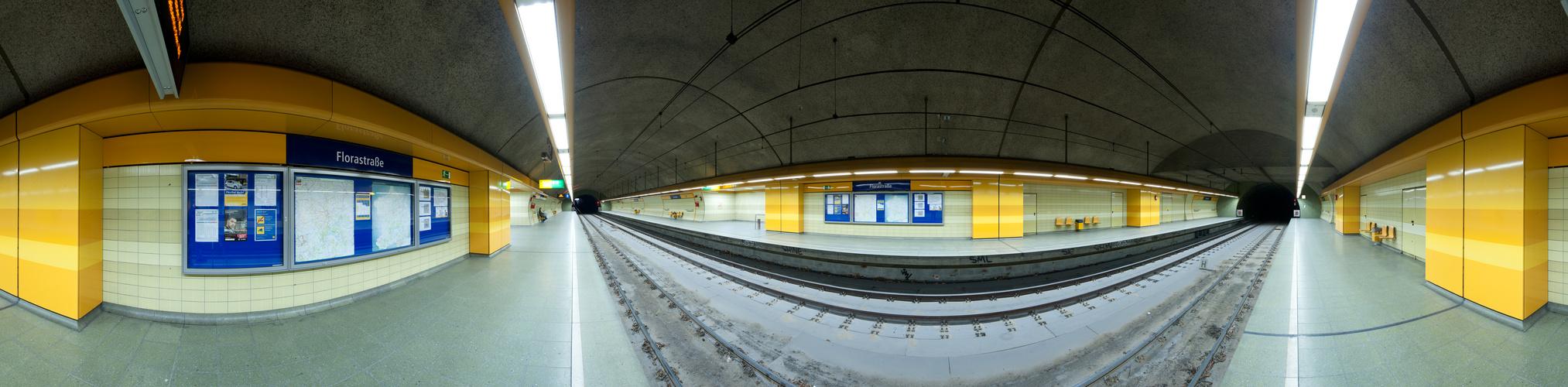 U-Bahnstation Florastraße
