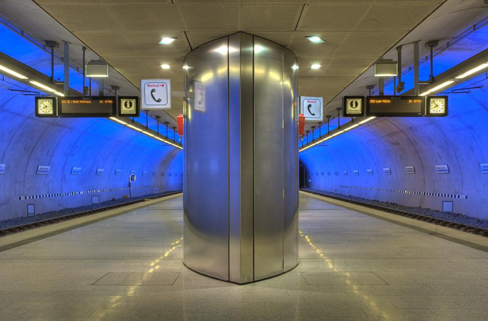 U-Bahnstation Jahrhunderthalle/Bochumer Verein