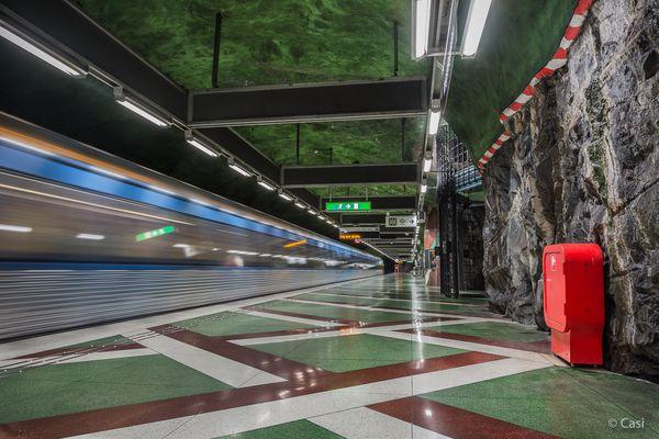 U-Bahnstation Kungsträdgården I