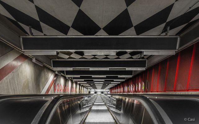 U-Bahnstation Kungsträdgården III