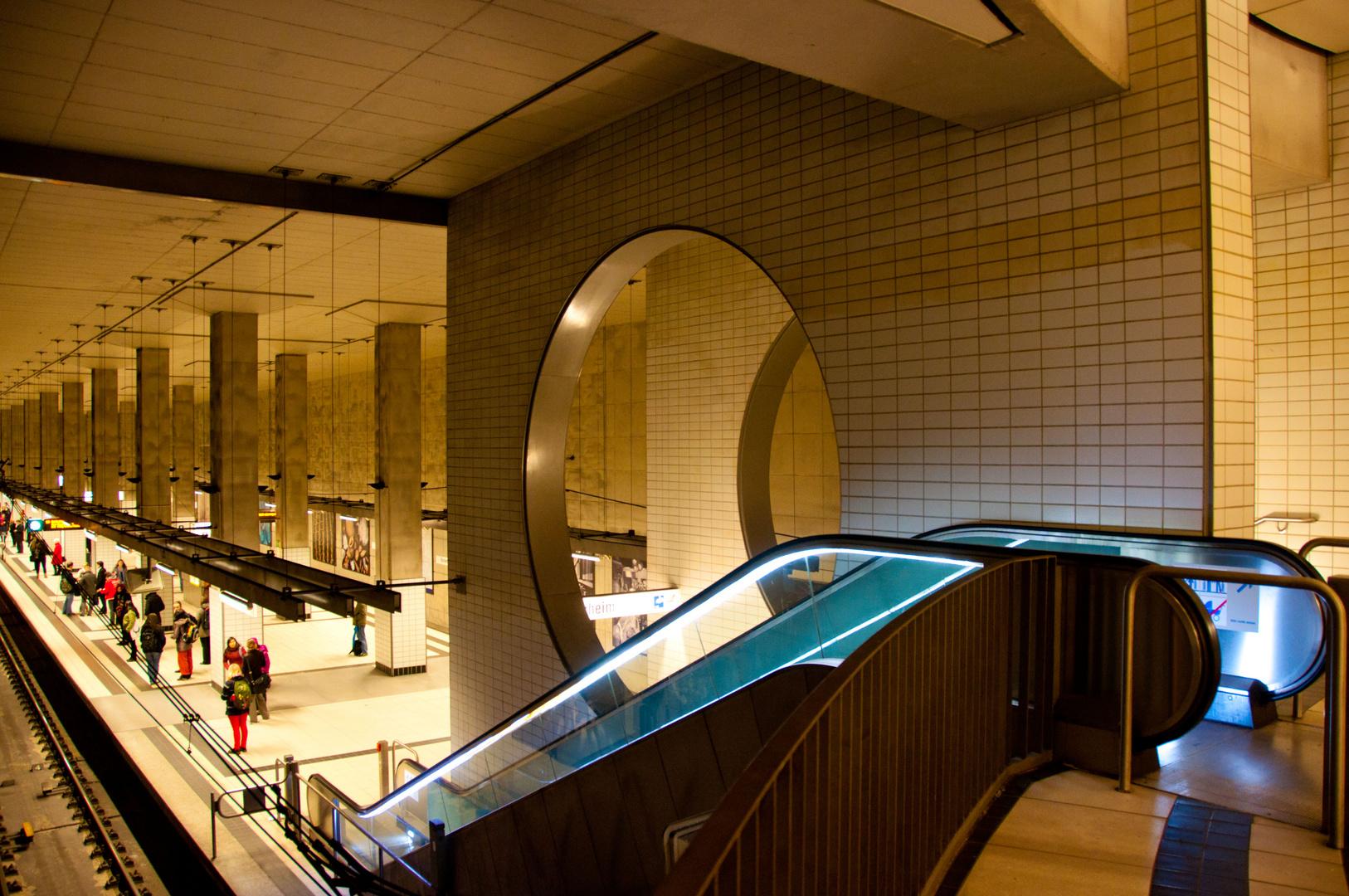 U-Bahnstation von oben