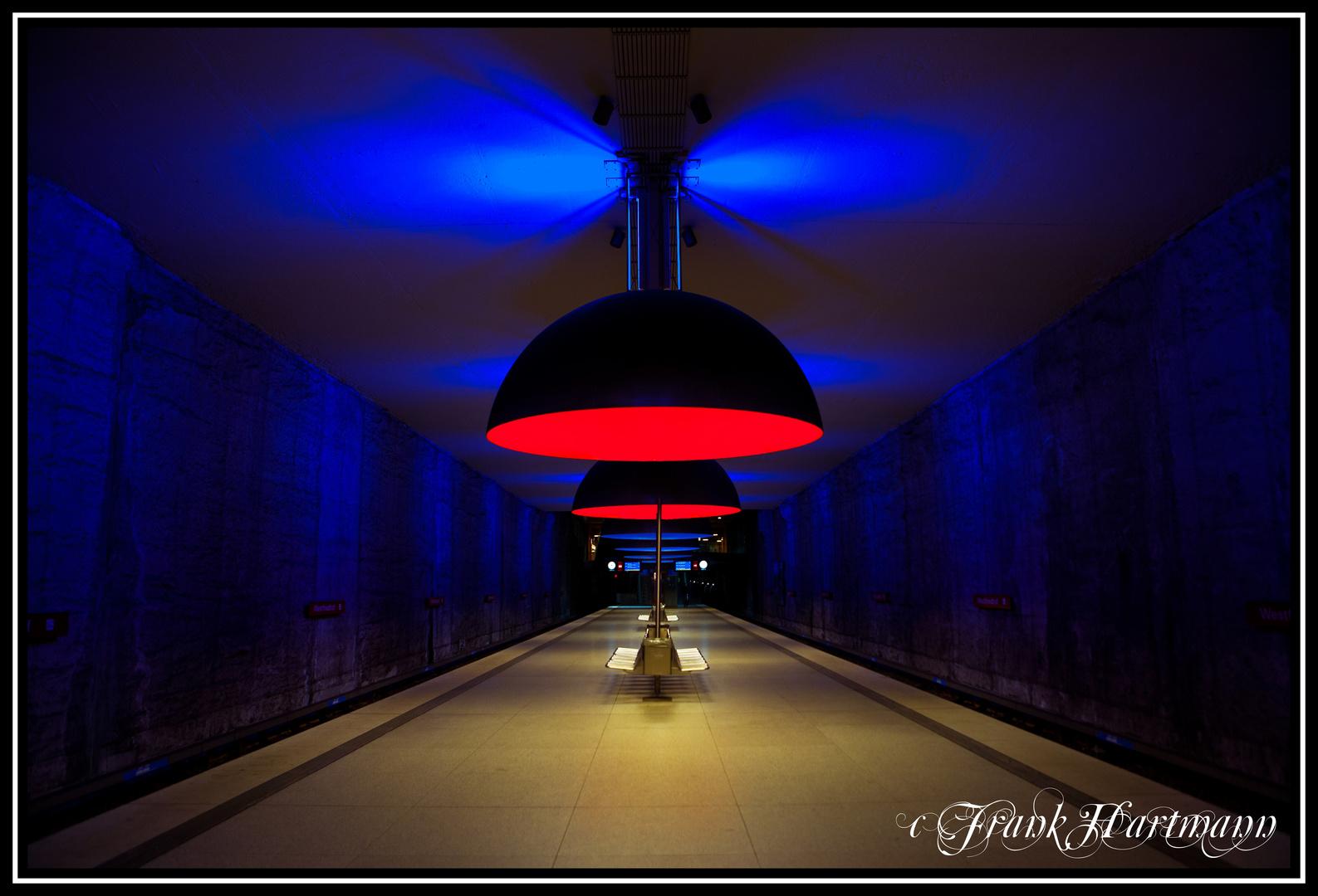 U Bahnstation Westfriedhof