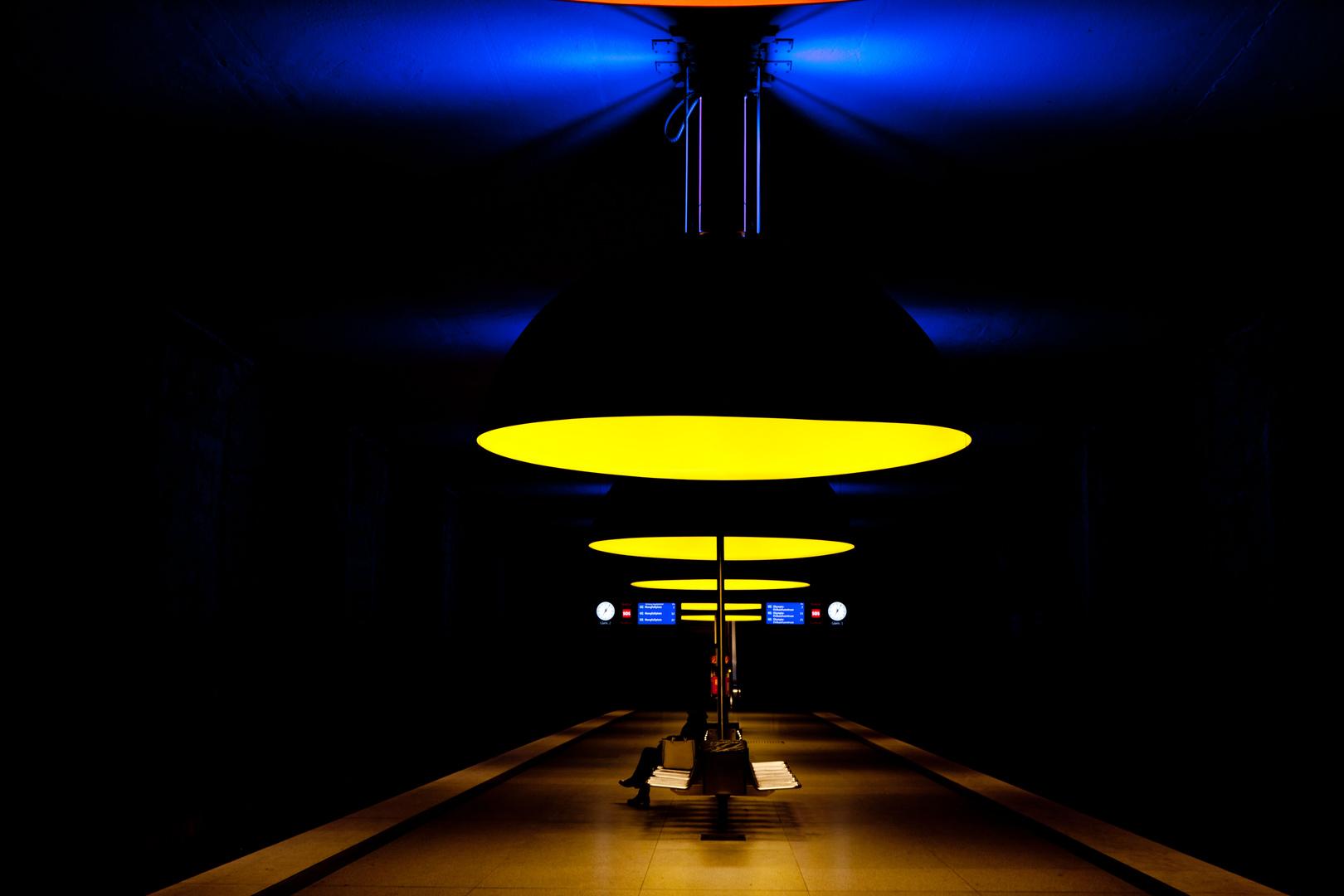 U-Bahnstation Westfriedhof, München