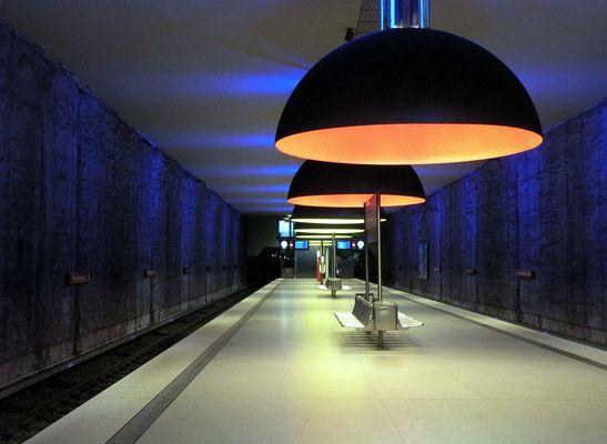 U-Bahnstation Westfriedhof München 2013