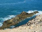U-Boot aus Stein auf Fuerteventura