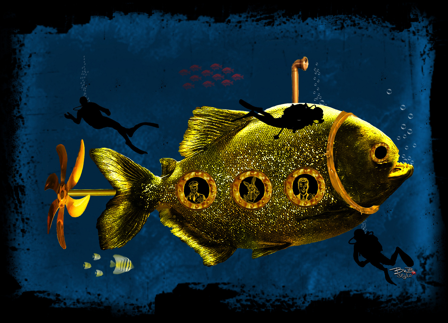 U-Boot-Fisch