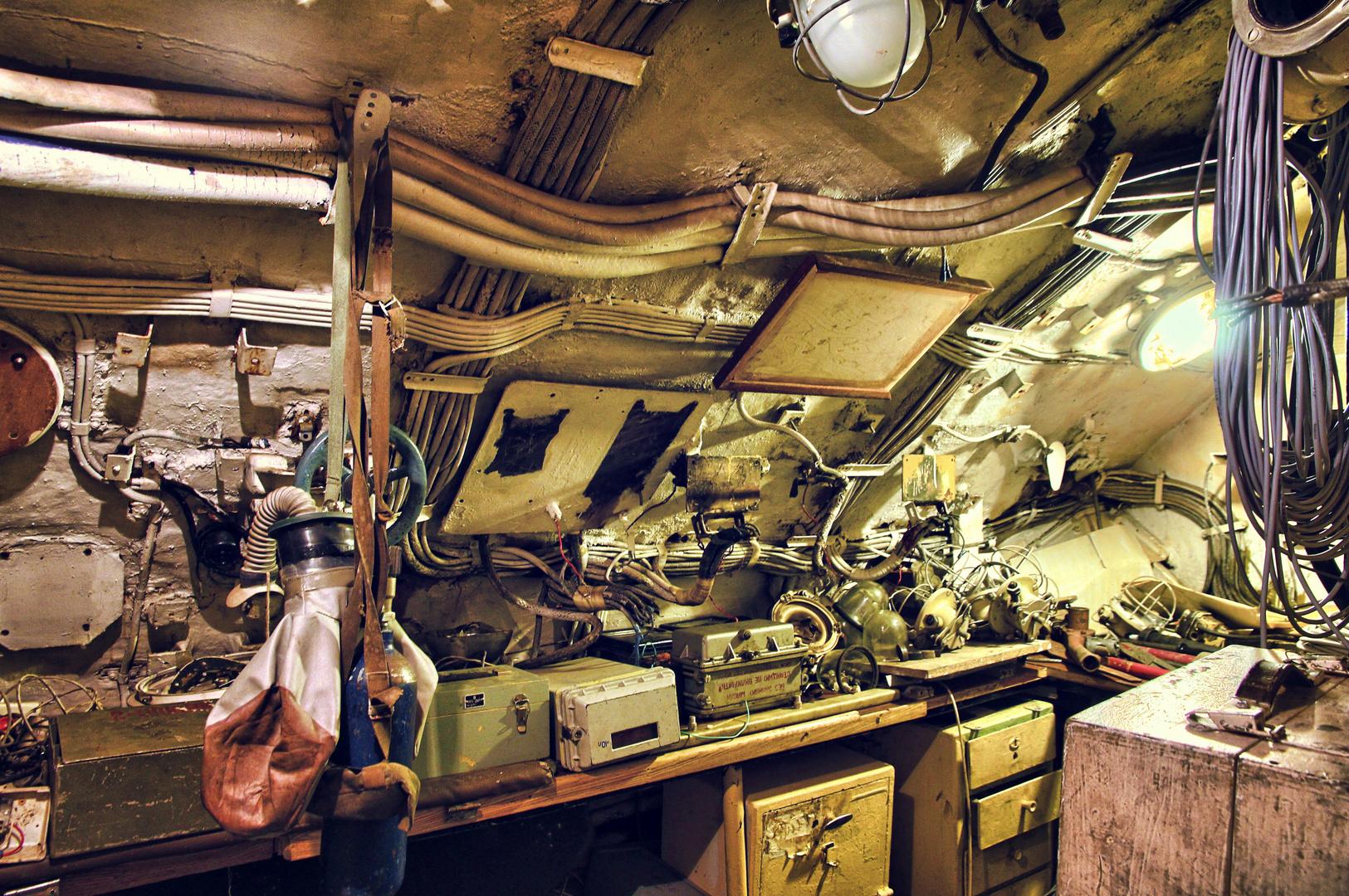 U-Boot Funkraum