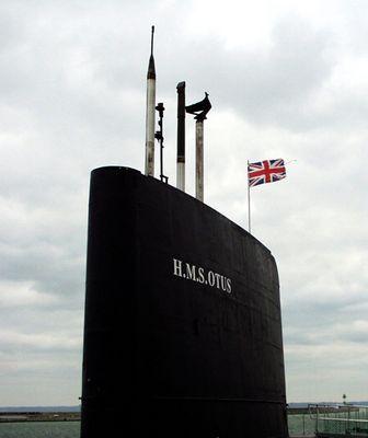 U - Boot im Hafen von Sassnitz
