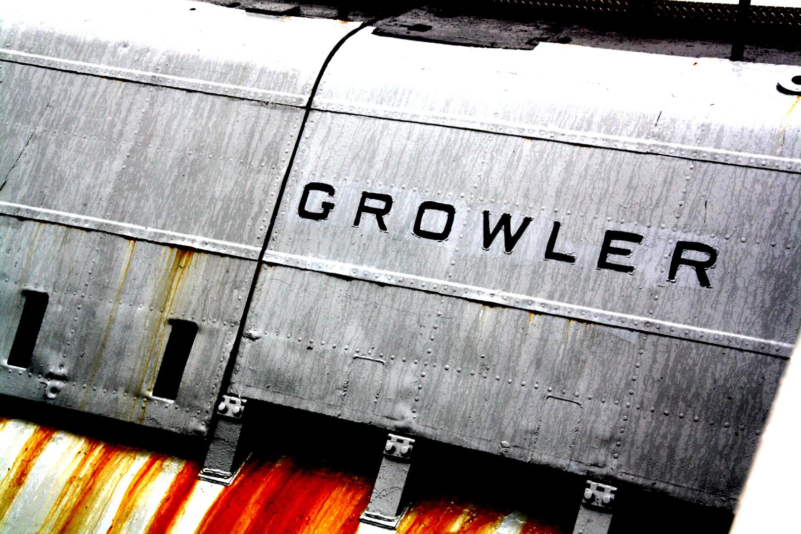 """U-Boot """" USS Growler"""" im Hafen von New York"""
