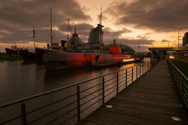 U Boot Wilhelm Bauer - Museumshafen