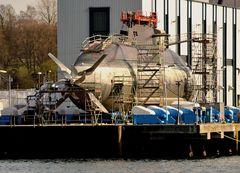 U-Bootbau,für den einen der Job,für andere Angst und Bedrohung