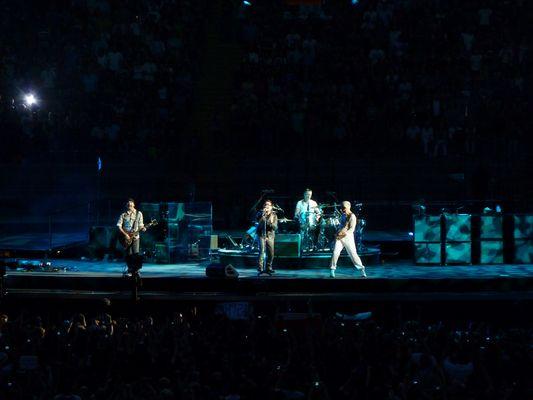 U2 in Frankfurt