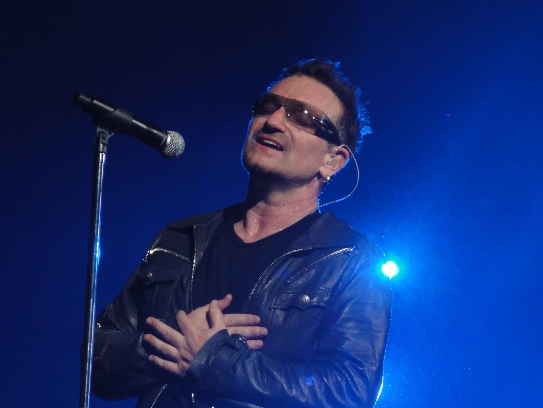 U2 in Hannover - Bono 3