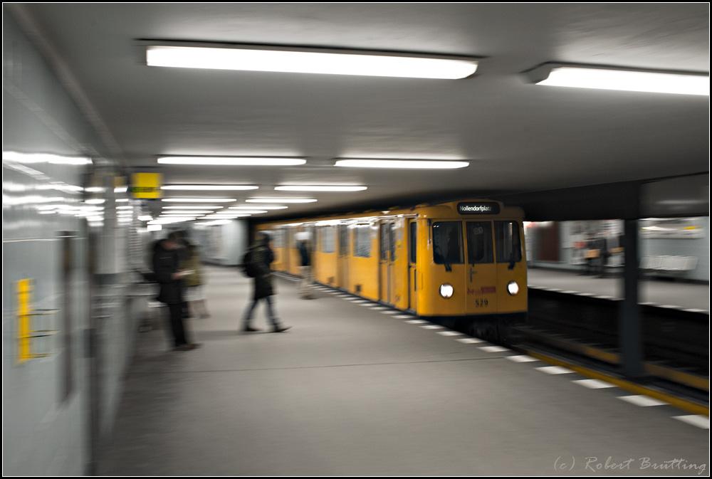 U3 zum Nollendorfplatz