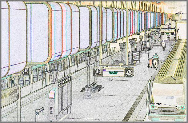 U4 Station Hafencity-Universität mal anders ...