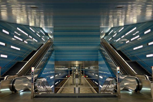 U4 U-Bahn-Station Überseequartier