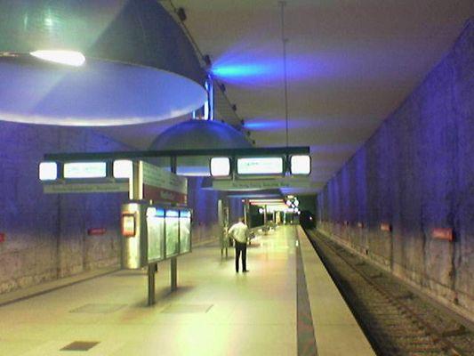 Ubahn Westfriedhof