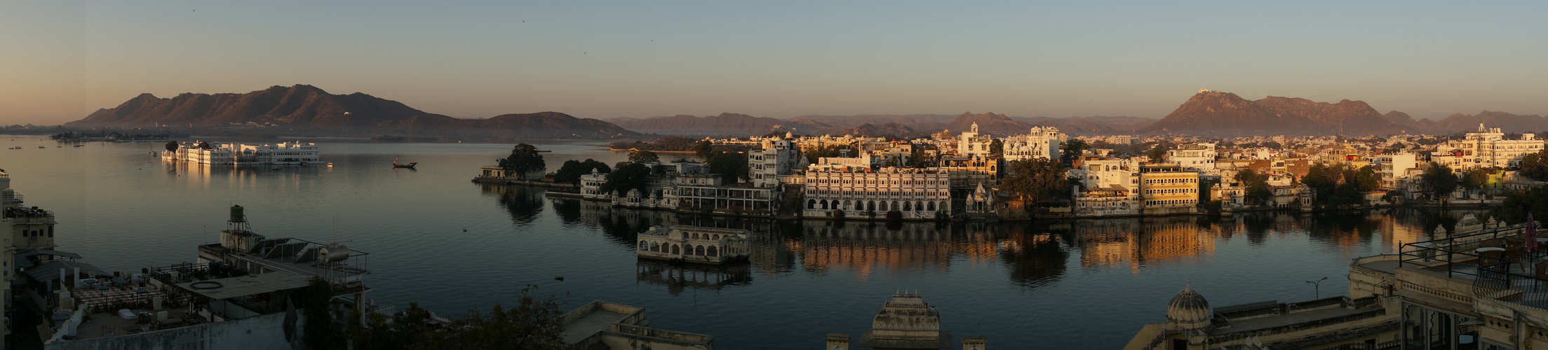 Udaipur am Morgen