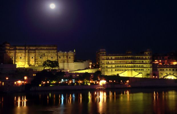 Udaipur by night
