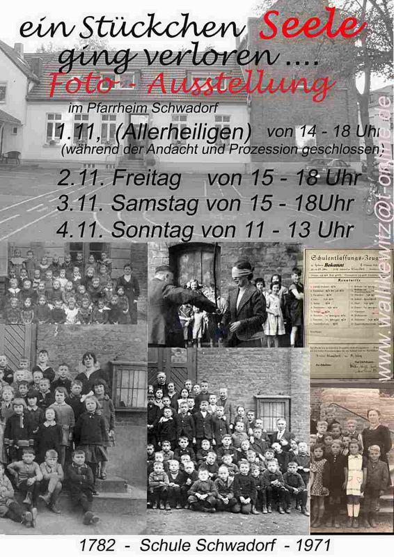 über 100 Jahre Schulklasesen - Fotos