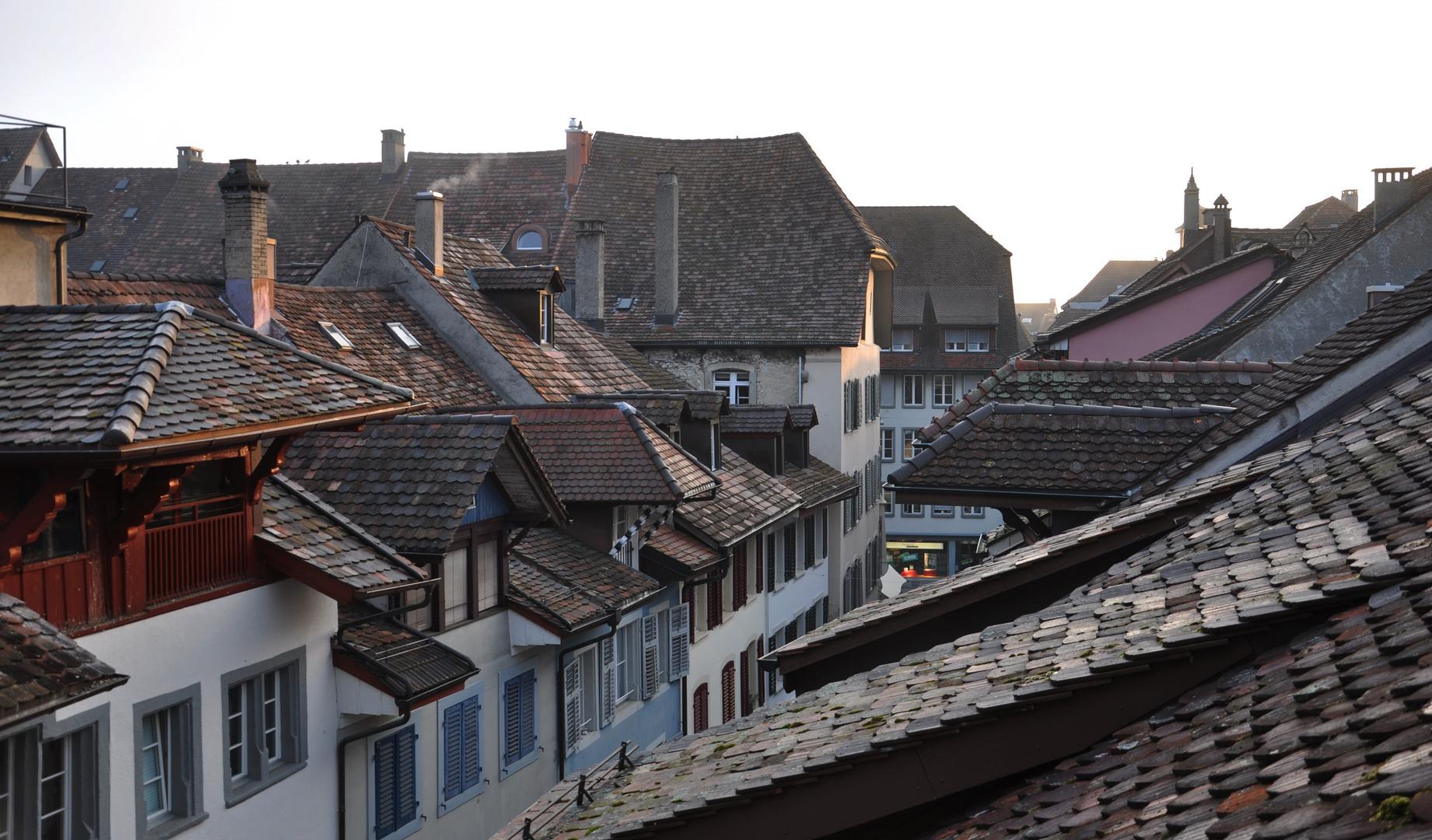 Über allen Dächern ist noch Ruh...