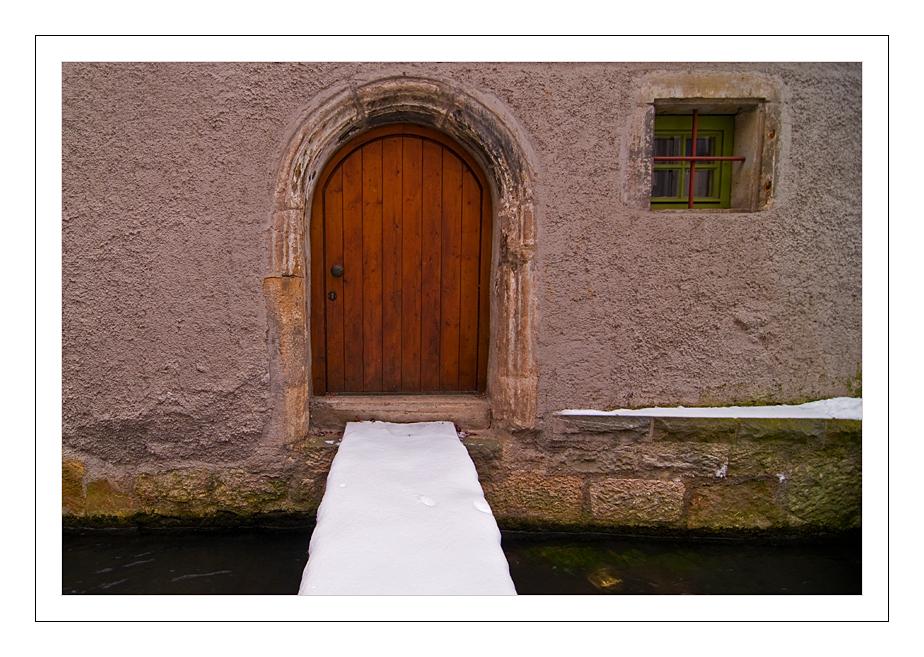 über-Ammer-Brücke-Tür