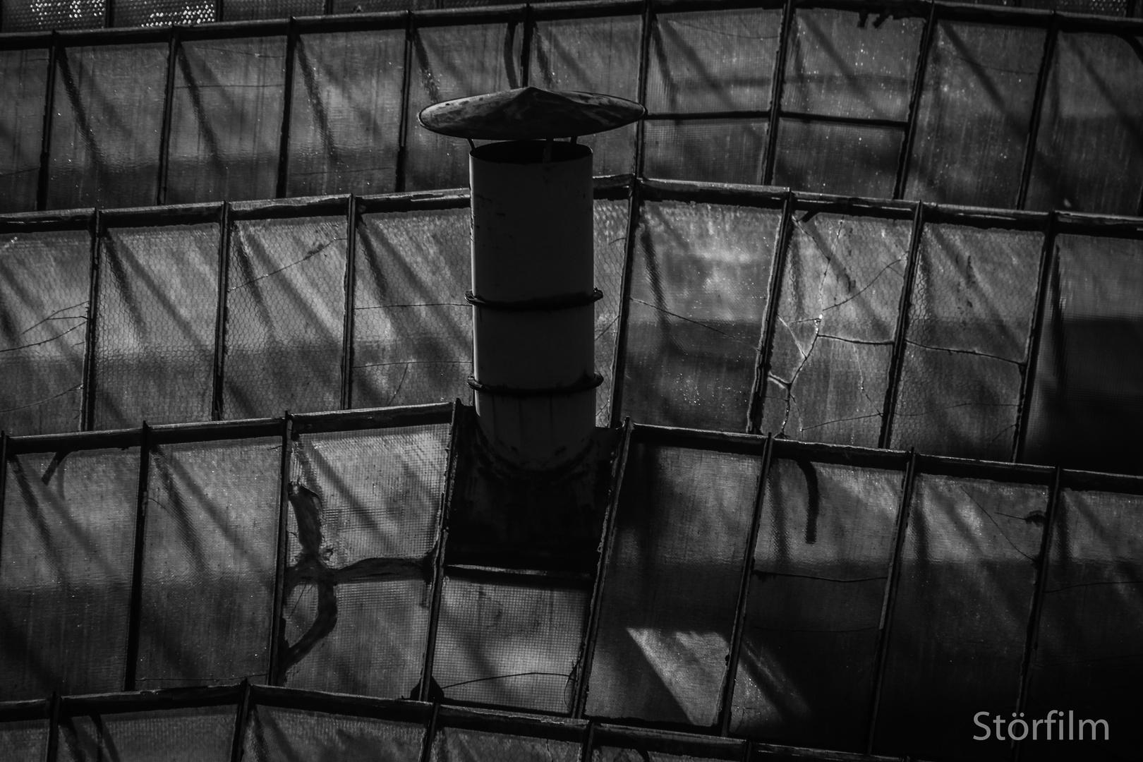 ....über dem alten Gummi- und Asbestwerk