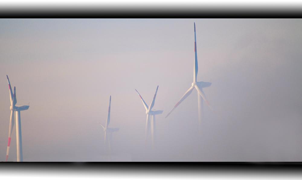über dem Nebel.....II