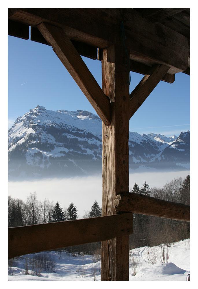 über dem Nebelmeer....