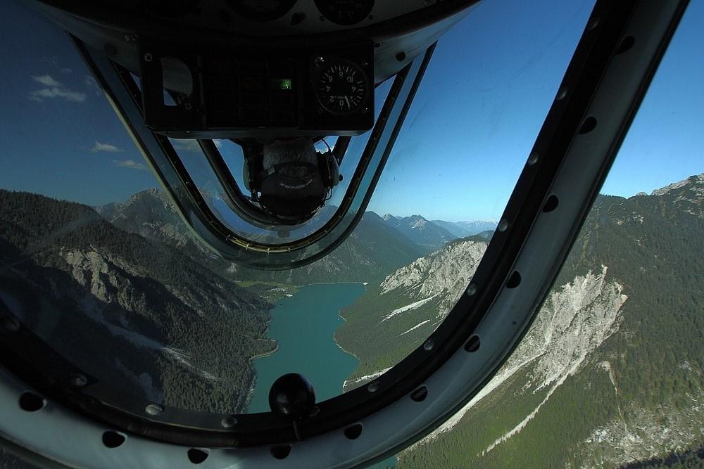 über dem Plansee - YAK 52 - SP-YLB - Pilot- Langhans Bernhard