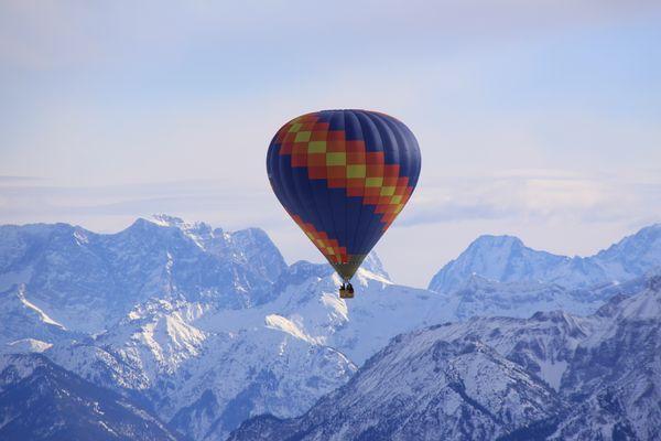 Über den Allgäuer Alpen
