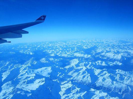 Über den Alpen