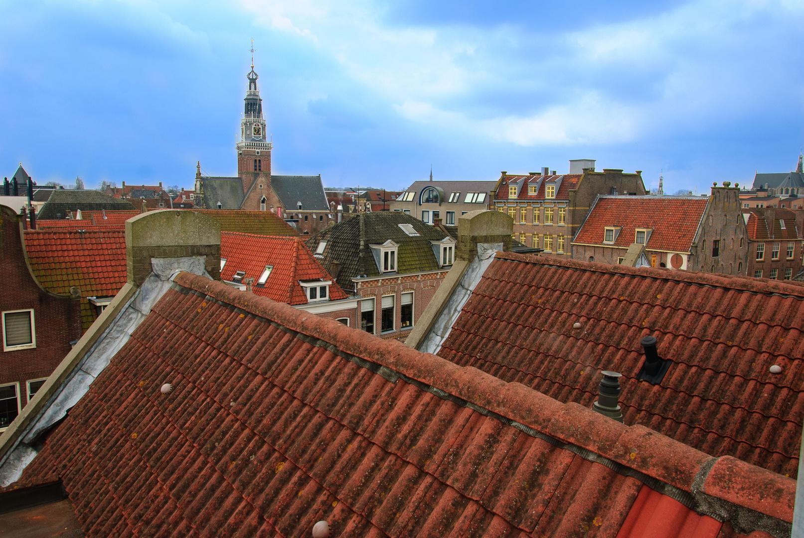 Über den Dächeren von Alkmmaar