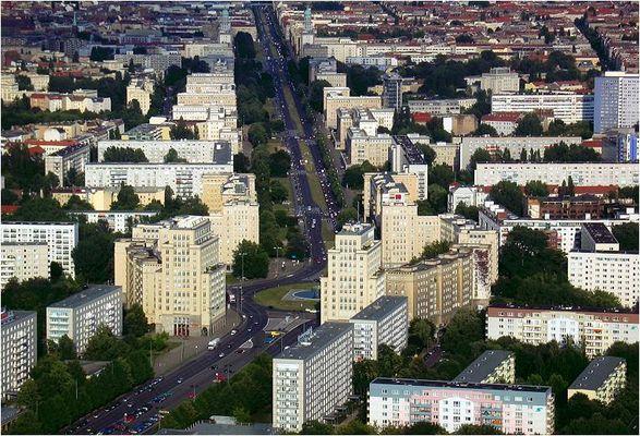 Über den Dächern Berlins (2) Karl-Marx-Allee + Strausberger Platz
