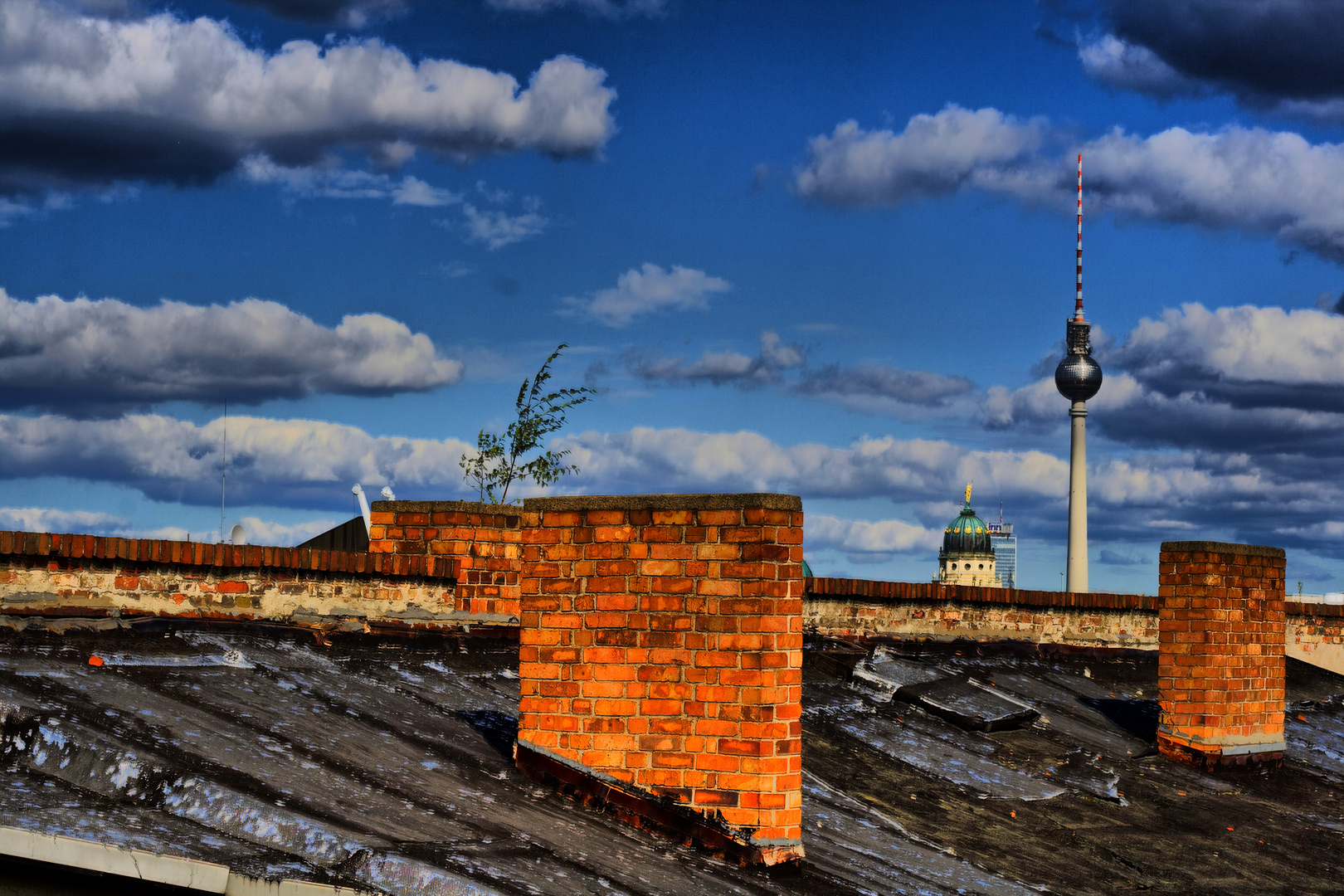Über den Dächern Berlins
