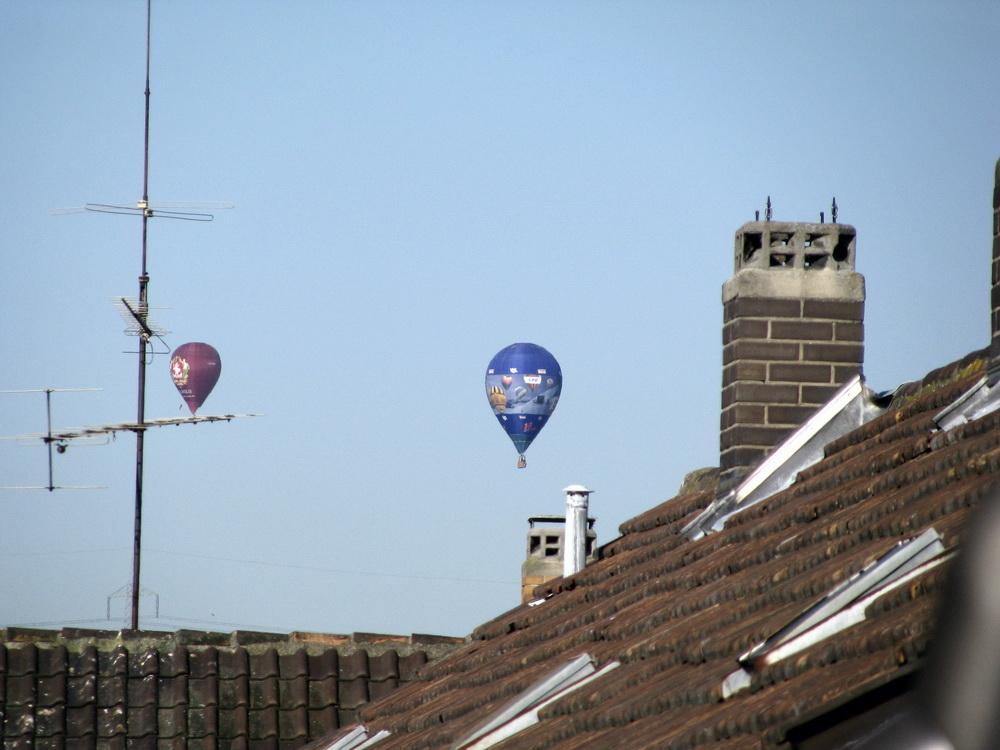 Über den Dächern!